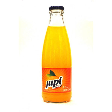 Jupi Orange Soft Drink-Glass, 250ml - Parthenon Foods