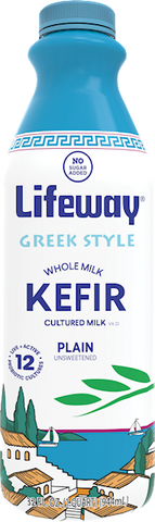 Kefir, Greek Style, 32 Fl. Oz. (1 Quart) - Parthenon Foods