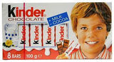 Kinder Chocolate, 100g - Parthenon Foods  - 2