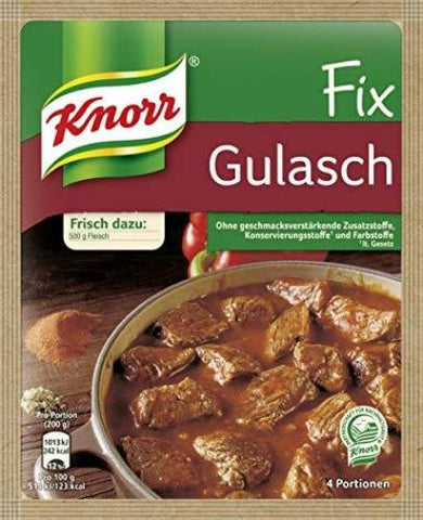 Knorr Fix for Gulasch, 51g - Parthenon Foods