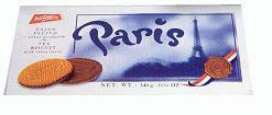 Tea Biscuit with Cocoa Cover - Paris   340g - Parthenon Foods