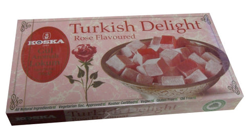 Turkish Delight Rose (Koska) 500g - Parthenon Foods