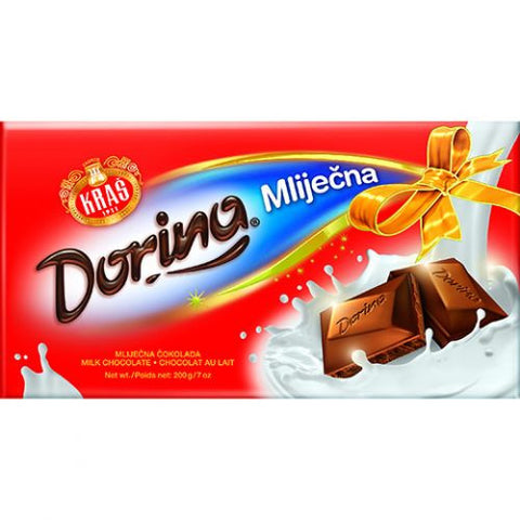 Milk Chocolate, Dorina, 200g - Parthenon Foods
