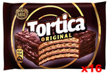 Tortica Chocolate Wafer with Chocolate (Kras) CASE (16 x 25g) - Parthenon Foods