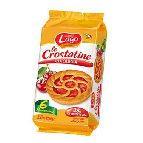 Crostatine, Cherry (Gastgone Lago) 8.47 oz (240g) - Parthenon Foods