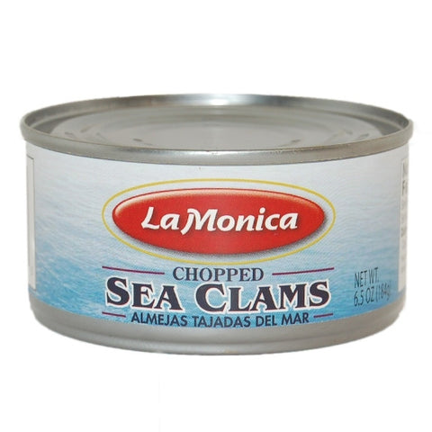 Chopped Sea Clams (LaMonica) 6.5oz (184g) - Parthenon Foods
