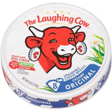 Laughing Cow Spreadable Cheese Wedges 8 pieces, 6 oz - Parthenon Foods