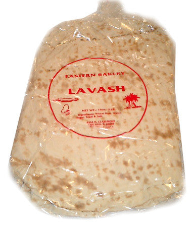 Lavash Bread, 3 x 1lb (3 PACK) 3 lbs - Parthenon Foods