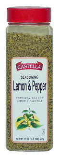 Lemon and Pepper Seasoning, 10oz - Parthenon Foods