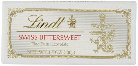Lindt Swiss Bittersweet 3.5oz (100g) - Parthenon Foods