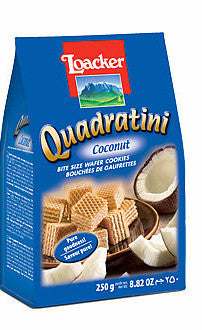 Loacker Coconut Quadratini 8.82oz (250g) - Parthenon Foods