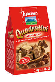 Loacker Hazelnut Quadratini 8.8oz - Parthenon Foods