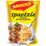 Spaetzle, Authentic German Dumplings (Maggi) 10.5 oz (298g)-bag - Parthenon Foods