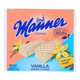Vanilla Cream Filled Wafers (Manner) 2.6 oz. (75 g) - Parthenon Foods