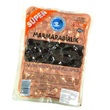 Black Olives, Super, SPR, (261-290/kg) 500g - Parthenon Foods