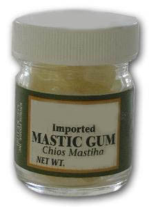 Gum Mastic, JAR, approx. 17g - Parthenon Foods