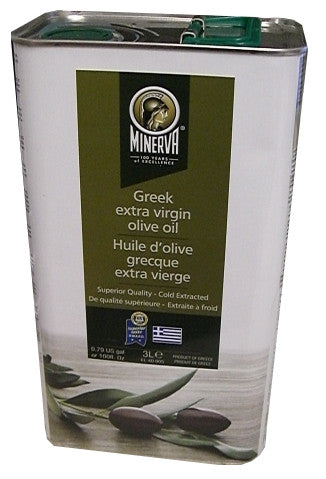Minerva Greek Extra Virgin Olive Oil, 3L - Parthenon Foods