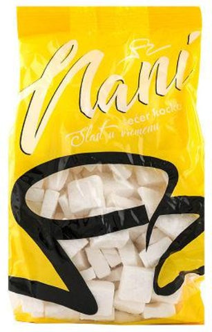 Sugar Cubes, Nani, 900g bag - Parthenon Foods