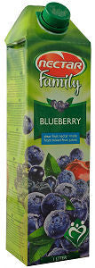Blueberry Juice (Nectar) 1L - Parthenon Foods
