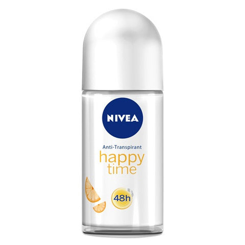 Nivea Happy Time for Women Roll-On Deodorant, 50ml - Parthenon Foods