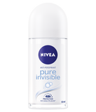 Nivea Pure Invisible Roll-On Anit-Perspirant, 50ml