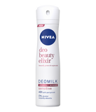Nivea Spray Deodorant, DeoMilk Beauty Elixir, Sensitive, 150ml - Parthenon Foods
