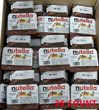 Nutella, 36 Individual Nutella Single Serve packs (Net Weight .52 ounces each) - Parthenon Foods