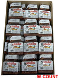 Nutella - Hazelnut Spread, CASE, (96 x .52 oz)) 96 COUNT - Parthenon Foods