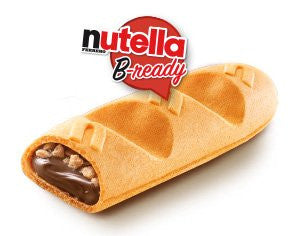 Nutella B-ready Wafer filled with Nutella, T6 4 66 oz