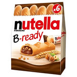 Nutella B-ready Wafer filled with Nutella, T6 4.66 oz - Parthenon Foods