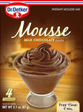 Milk Chocolate Mousse Mix (Oetker) 3.1 oz (87 g) - Parthenon Foods