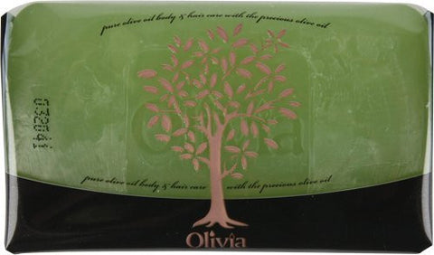 Olivia Natural Glycerine Facial Soap - 6x125 Gr Bars - 6-pack - Parthenon Foods