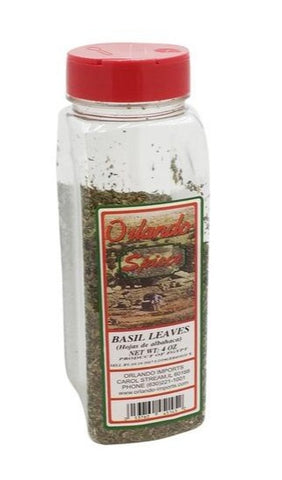 Basil Leaves (Orlando Spices) 4 oz - Parthenon Foods