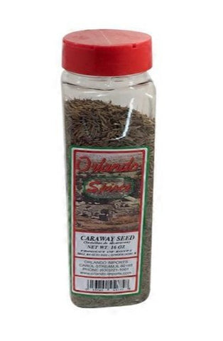 Caraway Seed, Whole (Orlando Spices) 16 oz - Parthenon Foods