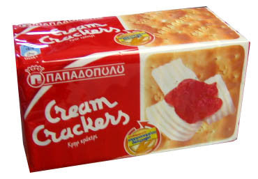 Cream Crackers (Papadopoulos) 140g - Parthenon Foods