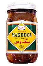 Makdoos, Stuffed Eggplants (Ziyad) 21oz (600g) - Parthenon Foods