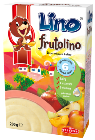 Cereal Flakes with Fruit- Frutolino, 7oz - Parthenon Foods