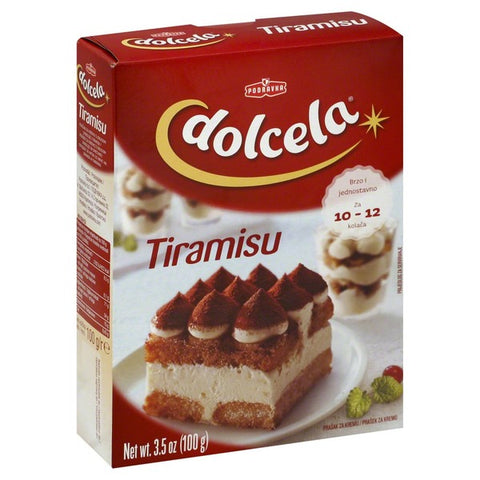 Tiramisu Dessert and Cake Cream Powder Mix, 3.5 oz (100g) - Parthenon Foods