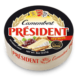 Camembert Round Soft-Ripened Cheese, 8oz(227g) - Parthenon Foods
