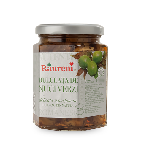 Green Walnut Confiture (Raureni) 250g (8.9 oz) - Parthenon Foods