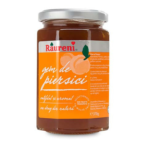 Peach Jam (Raureni) 370g (13 oz) - Parthenon Foods