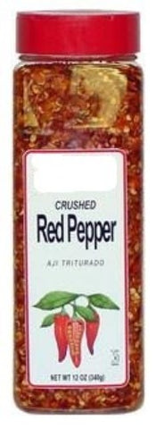 Crushed Red Pepper, 12 oz - Parthenon Foods