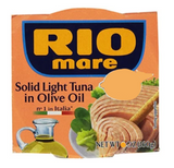 Solid Light Tuna in Olive Oil (Rio Mare) 5.6 oz (160g) - Parthenon Foods