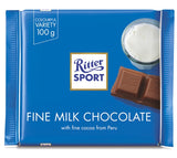 Ritter Sport Fine Milk Chocolate, 100g - Parthenon Foods