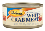 White Crab Meat (Roland) 6oz (170g) - Parthenon Foods