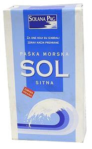 Sea Salt Fine - Sitna Morska, 1kg - Parthenon Foods
