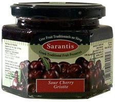Sour Cherry Preserve (sarantis) 16oz - Parthenon Foods