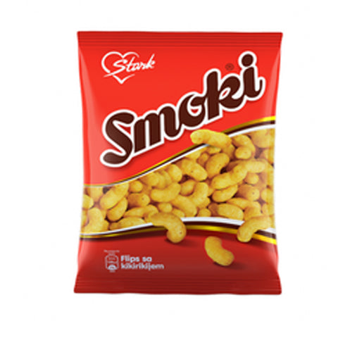 Smoki Peanut Flavored Snacks, 50g - Parthenon Foods