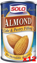 Solo Almond Filling CASE (12 x 12.5oz) - Parthenon Foods