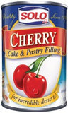 Solo Cherry Filling, 12.5oz  BBD APR. 2017 - Parthenon Foods